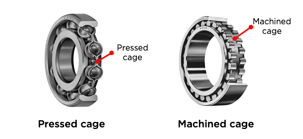 Fig. 6: The two most common types of cage