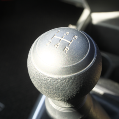 Fig. 2: The gear stick used to operate a manual transmission