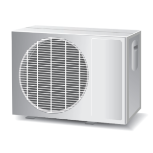 Fig. 1: An air conditioner's outdoor unit