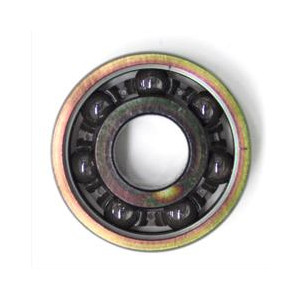 Fig. 7: A bearing for use in an inline skateboard, with ceramic balls
