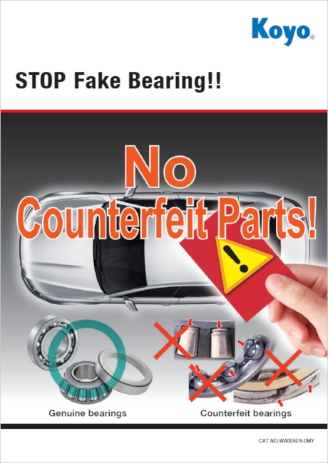Report for Testing data of Fake / Copy Bearing and How danger it's used.